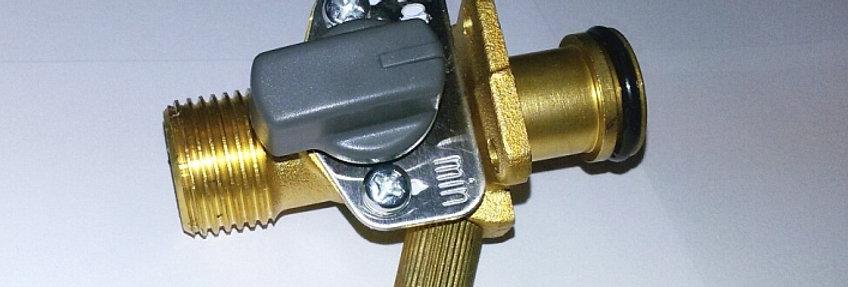 Кран подачи воды в сборе для турбированных колонок JSD 20-T1