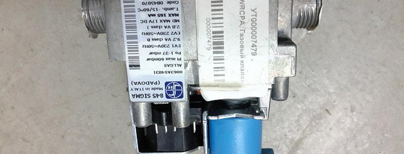 130WRCPA, Газовый клапан SIGMA 845