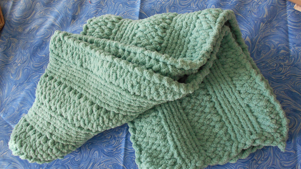 Sea Foam Green Scarf