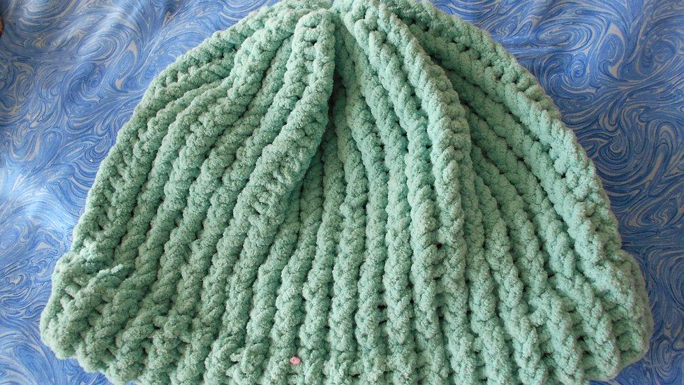 Sea Foam Green Beanie
