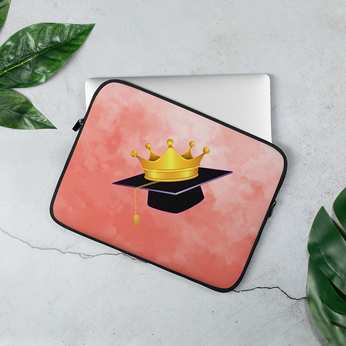 Coral Watercolor - Laptop Sleeve