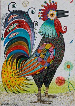Carlos Riveros - Gallo Blanco