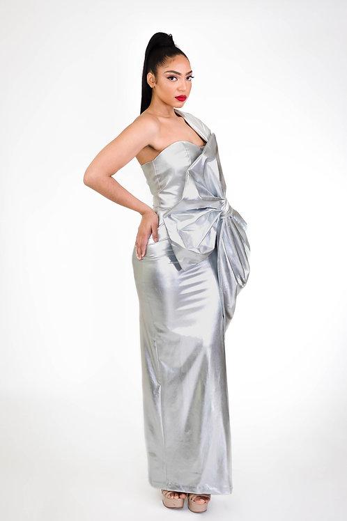 Authentic Spirit Silver Dress