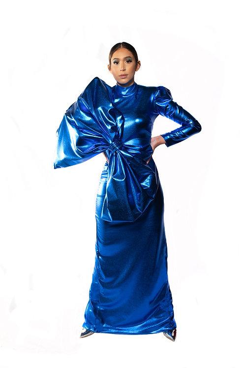 Authentic Spirit Blue Dress