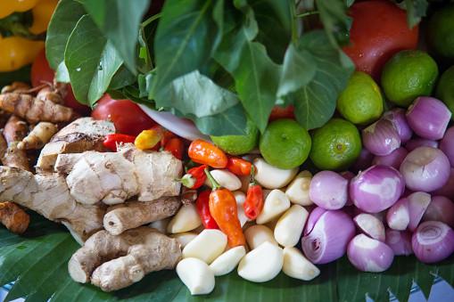 fresh organic condiments