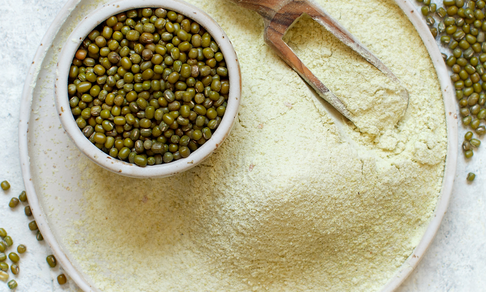 Sprouted Moong Dal Flour/ Atta (500 gm)