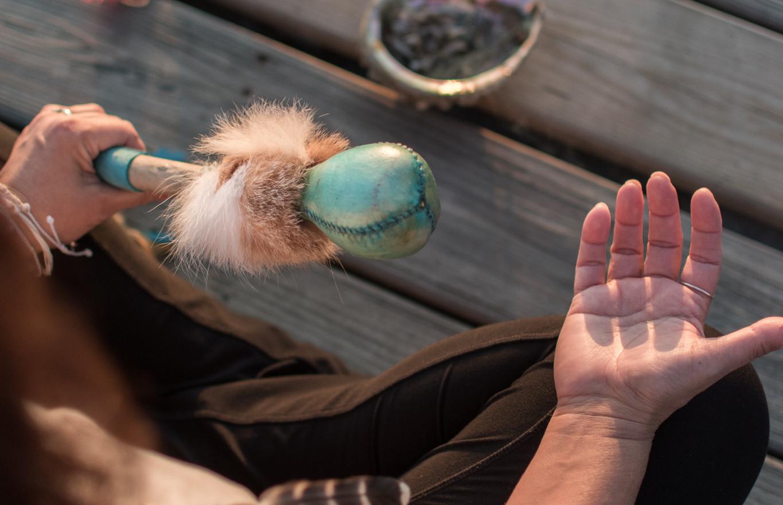Yoga Chamanique hochet