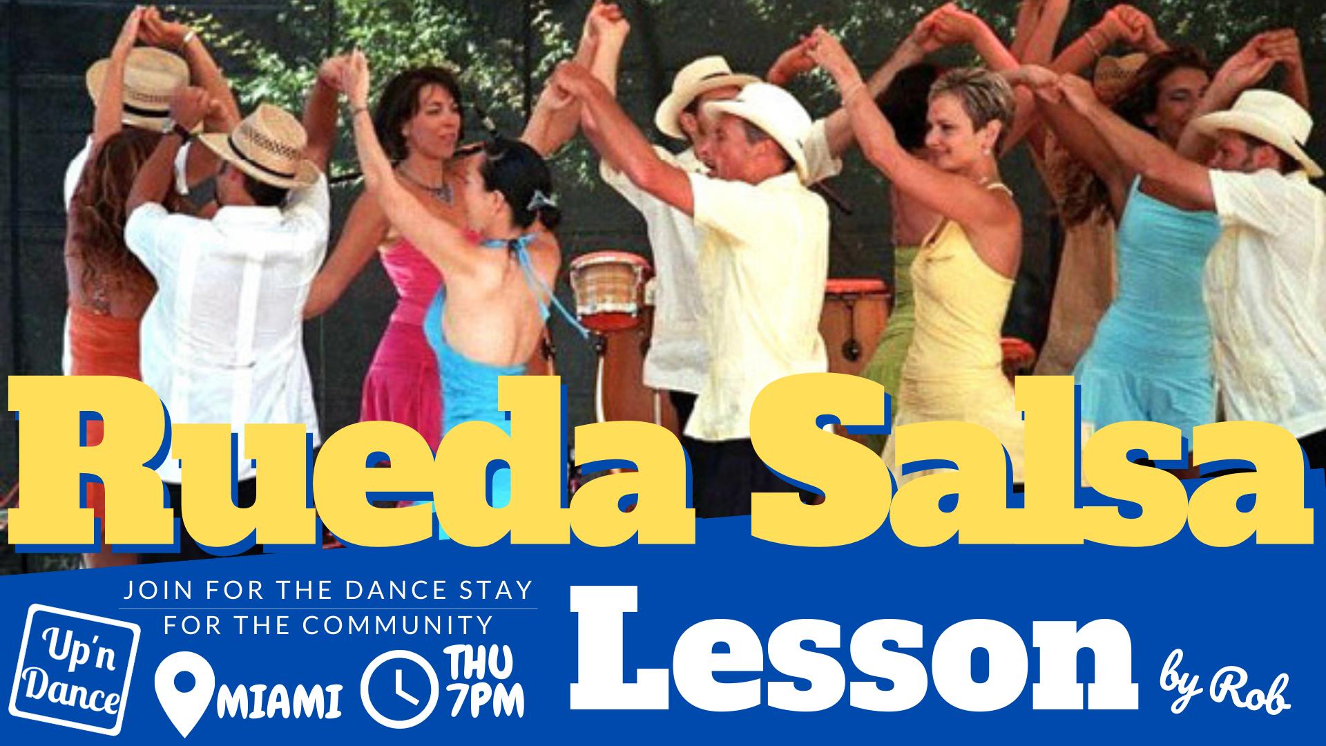 Cuban Salsa & Rueda Lesson