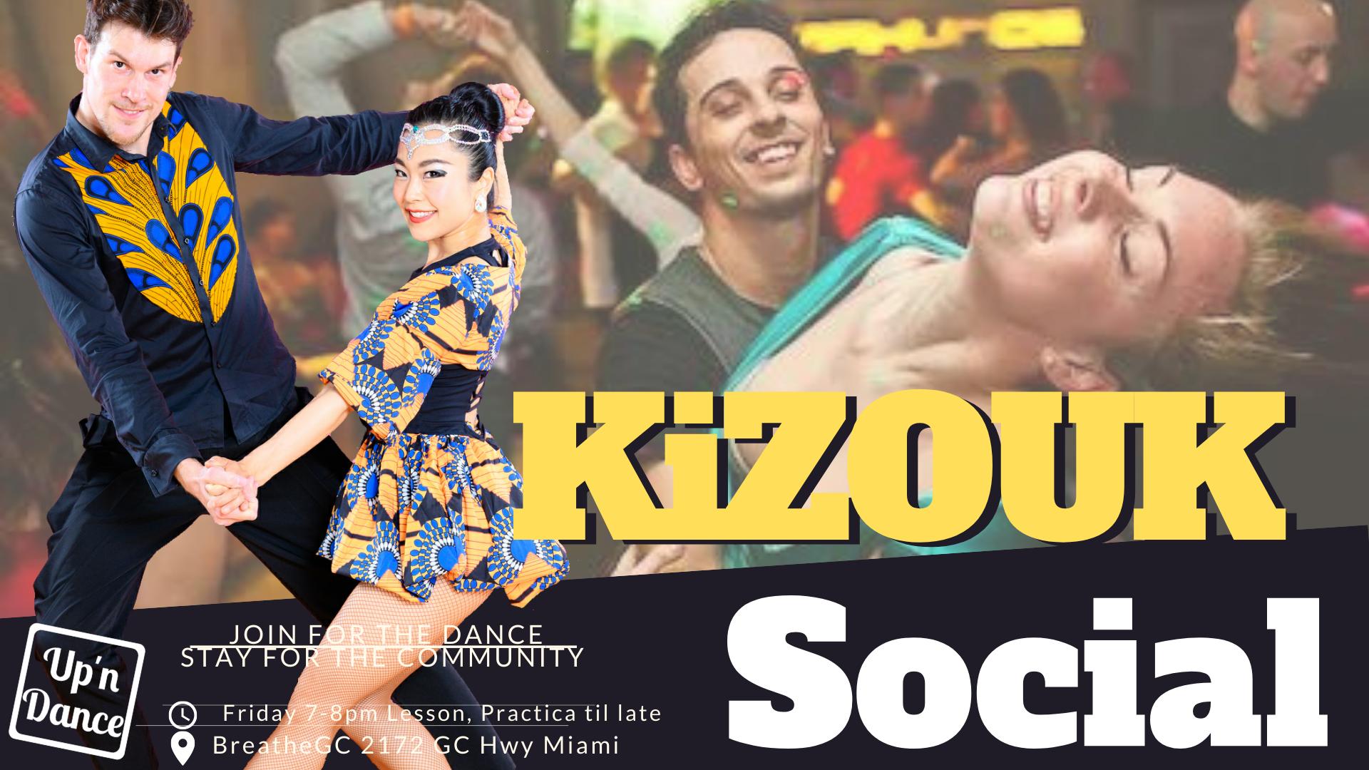 Zouk meets Kizomba party
