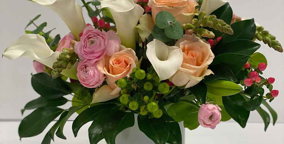 Soft Shades of Pink - Flower Arrangement