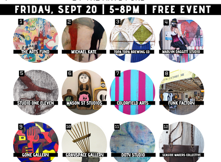 September Funk Zone Art Walk™ - Free Community Event