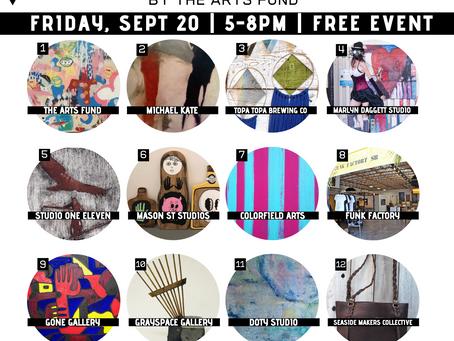 September Funk Zone Art Walk™ - Free Community Event