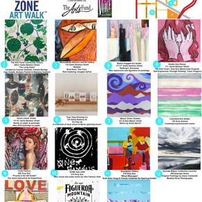 May 17 Funk Zone Art Walk™ - Free Community Event