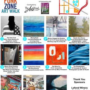 January 18 Funk Zone Art Walk - Free Community Event