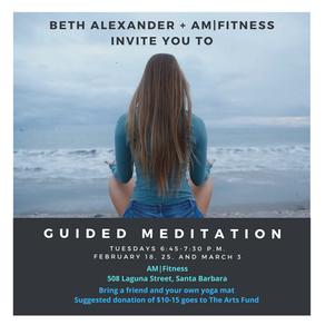 Beth Alexander + AM|Fitness Meditation Fundraiser