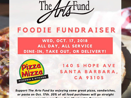October Foodie Fundraiser