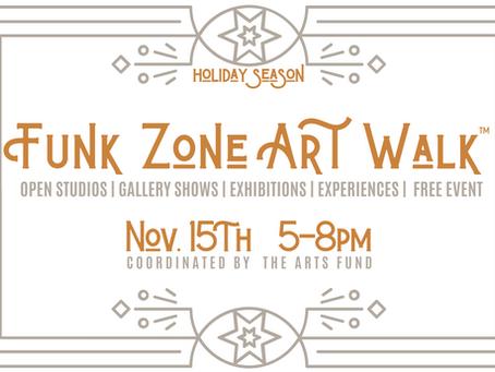 November Funk Zone Art Walk™ - Free Community Event