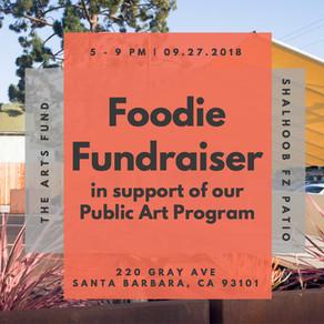 September Foodie Fundraiser-Mural Program Benefit at Shalhoobs