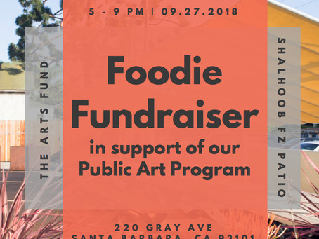 September Foodie Fundraiser-Mural Program Benefit at Shalhoobs