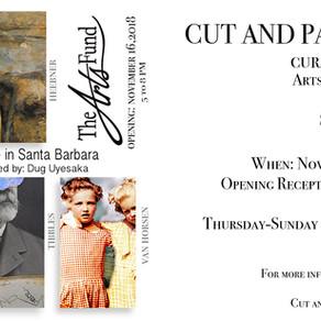 Cut and Paste - Collage in Santa Barbara - Community Gallery Exhibit