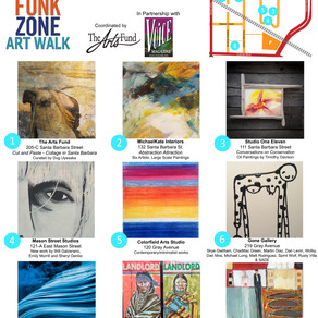 November 16 Funk Zone Art Walk - Free Community Event