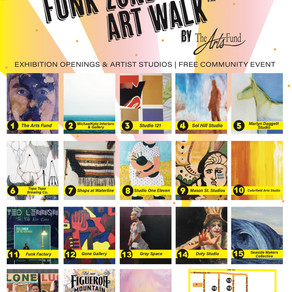 July 19 Funk Zone Art Walk™ - Free Community Event