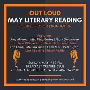 May 19 Out Loud SB Literary Reading