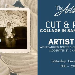 Artist Talk: Cut and Paste - Collage in Santa Barbara