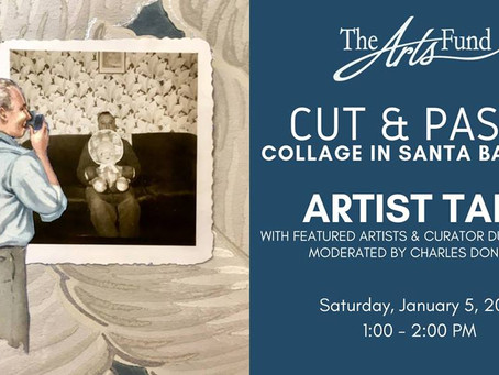 Artist Talk: Cut and Paste - Collage in Santa Barbara