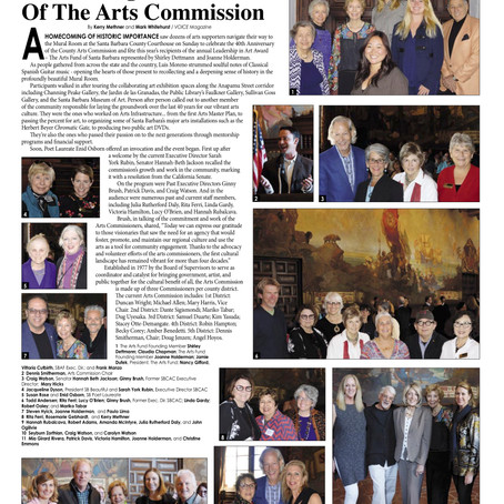 The Arts Fund Receives Leadership in the Arts Award, VOICE Magazine, 2018