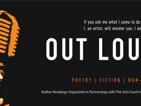 March 24 OUT LOUD Literary Reading