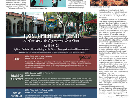 """The Arts Fund Curates State St. Underpass for """"Experiment Weekend"""", VOICE Magazine 2019"""
