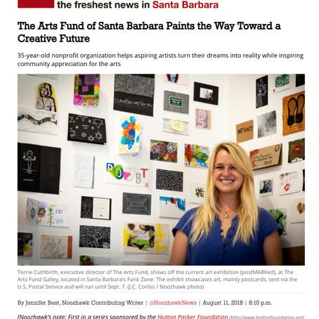 The Arts Fund Paints the Way Toward a Creative Future, Noozhawk 2018