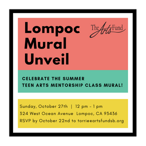 Lompoc Mural Unveil - October 27 12pm-1pm