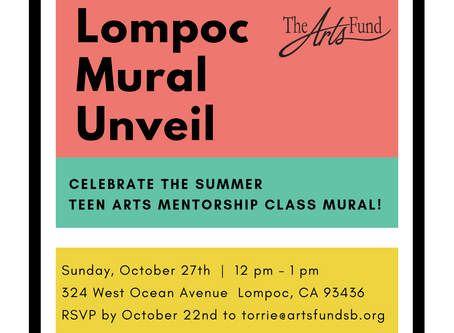 Lompoc Mural Unveil - October 27 12pm-1pm