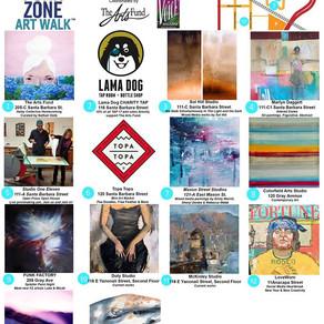 March 15 Funk Zone Art Walk - Free Community Event