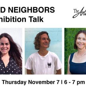 Artist Talk - Featuring Evan Sherman & Community Environmental Council