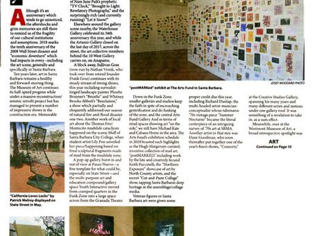 SB Art Scene, SB News-Press 2019