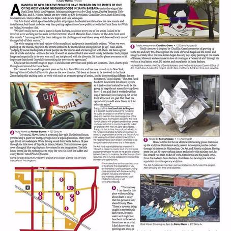 Public Art Program, VOICE Magazine 2017