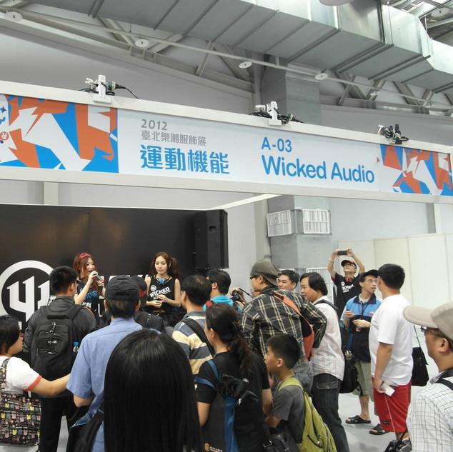 Wicked Audio 參展2012台北樂朝服飾展