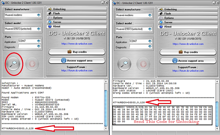 تحديث جديد !!!طريقة فك تشفير مودم موديل huawei e5577s-321 + تحديثات
