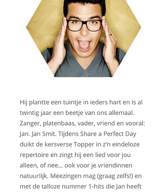 Copywriting Share a Perfect Day Tess Dum