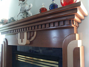 Art Deco Mantel