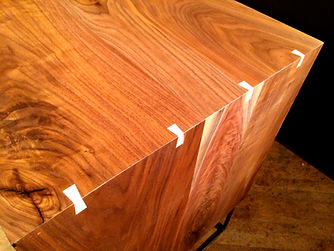 Dovetail Keys on the Eclipse Credenza