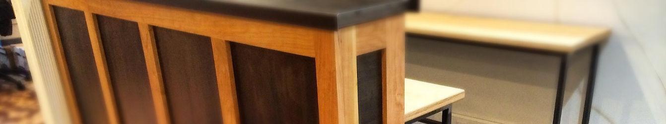 REception desk, file cabinet, work station