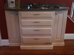 Base cabinet with drawers and doors