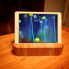 iPad Stand, reclaimed plywood scraps