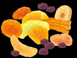 熊本 ダイエット 食物繊維が豊富なドライフルーツ!!