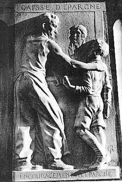 Monument à Delessert - Saumur - 1934