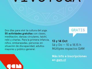 Meditación en Movimiento en el Centro Cultural Gabriela Mistral